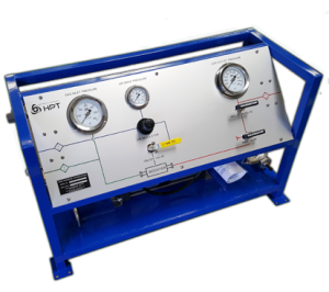 High Pressure Technologies Air Driven MTIG Gas Booster System
